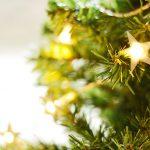 Afbeelding kerstlichtjes ster