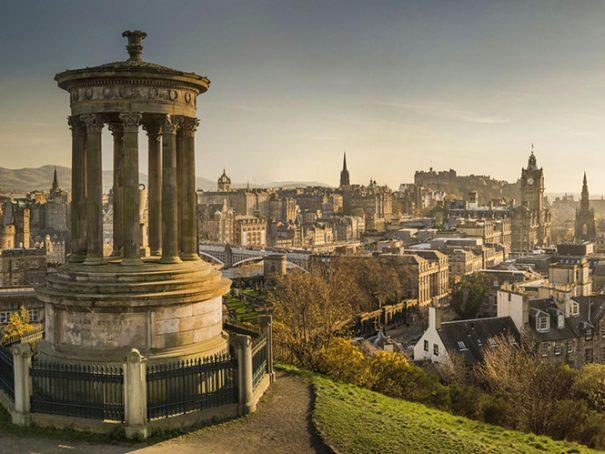 Afbeelding Edinburgh Schotland