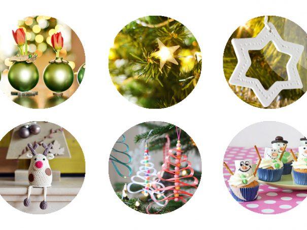 Afbeelding 6x kerst DIY