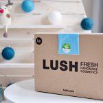 Afbeelding Lush kerst sale 2016 doos met producten