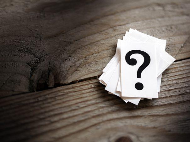 Afbeelding question mark via shutterstock