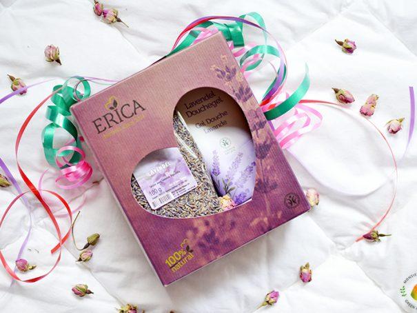 Afbeelding Erica cadeaupakket lavendel