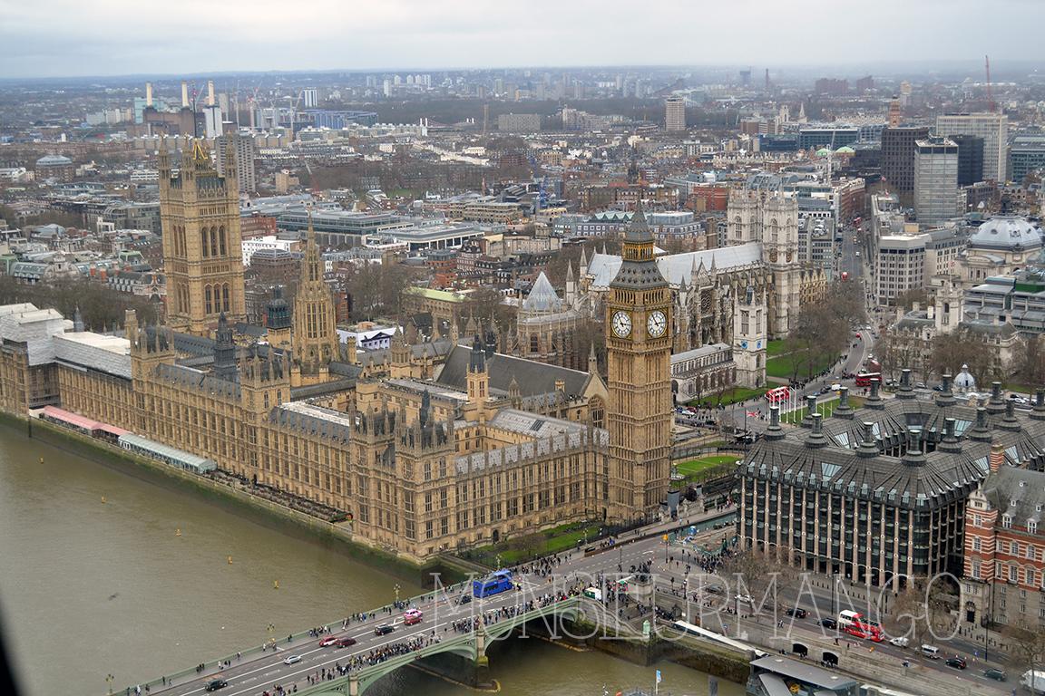 Afbeelding uitzicht London Eye