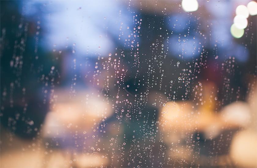 Afbeelding van de regen in de drup
