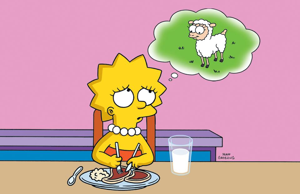 Afbeelding lisa the vegetarian