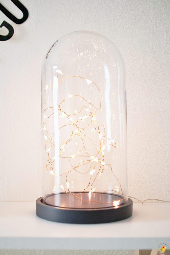 Afbeelding DIY stolp met lichtjes