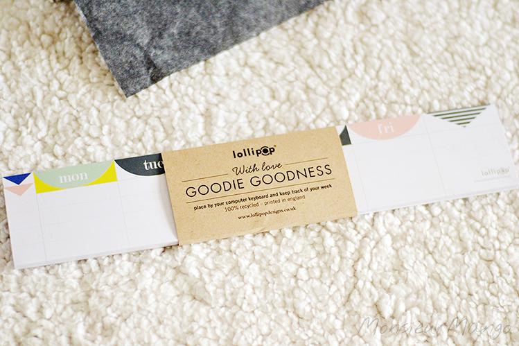 Afbeelding Goodie goodness februari weekplanner