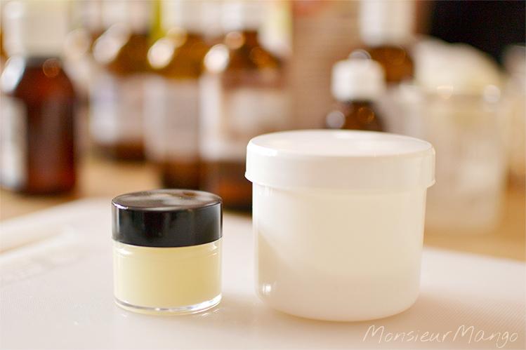Afbeelding Janamos workshop resultaat lippenbalsem en deodorant