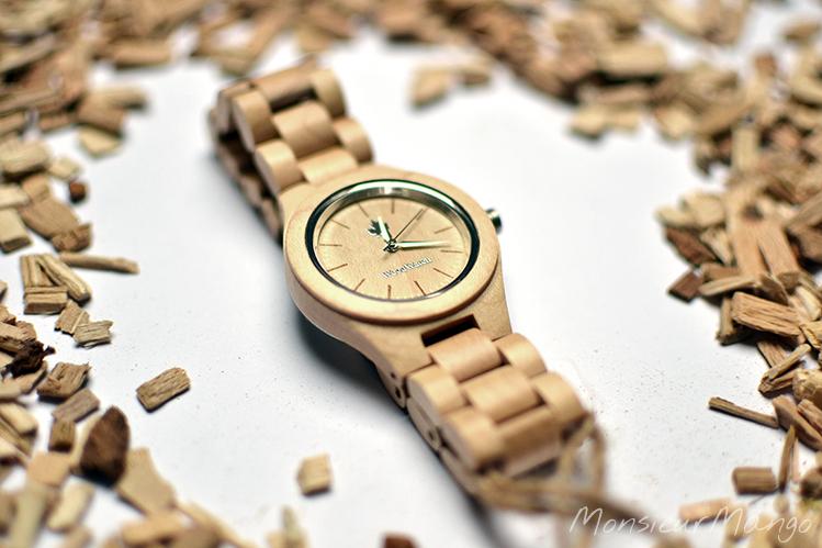 Afbeelding WoodWatch Femme horloge