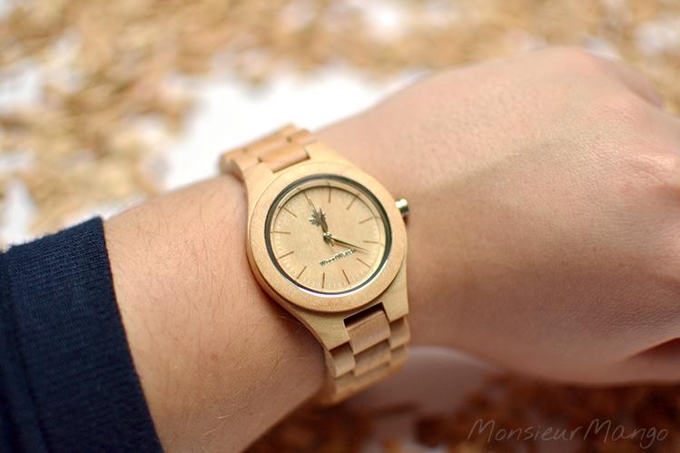 Afbeelding WoodWatch horloge femme