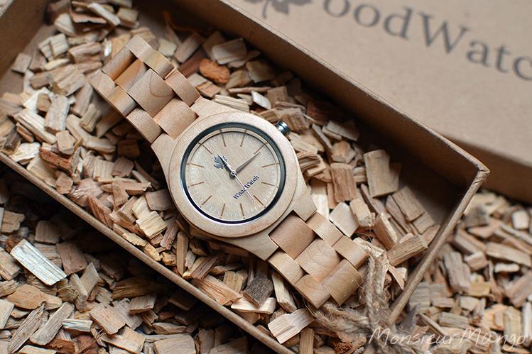 Afbeelding WoodWatch horloge