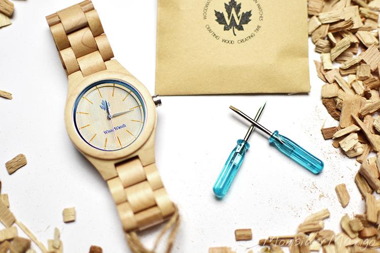 Afbeelding WoodWatch horloge schakels