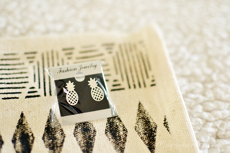 Afbeelding Goodie Goodness mei box ananas oorbellen