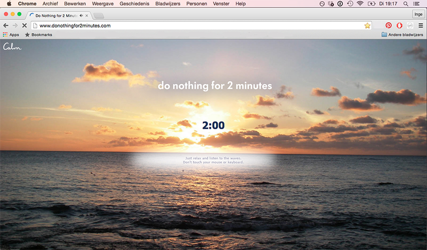 Afbeelding Do Nothing for 2 Minutes