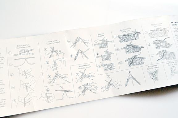 Afbeelding kussenhoes breien beschrijving