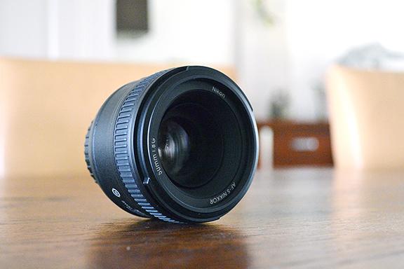 Afbeelding lens 50 mm f1.8 Nikon