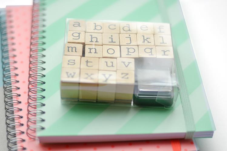 Afbeelding notitieboekjes hema met stempels