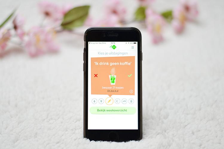 Afbeelding NPO groen app uitdaging geen koffie