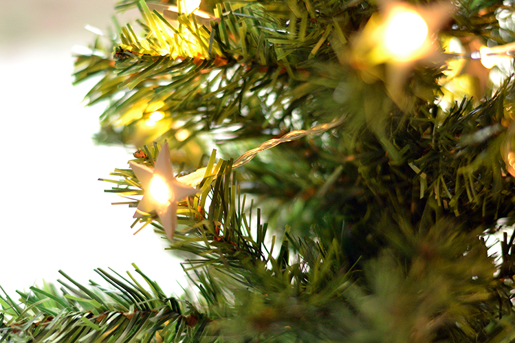 Afbeelding sterrenslinger kerst