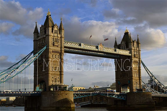 Afbeelding tower bridge londen