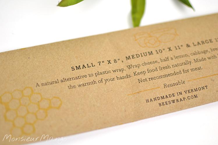 Afbeelding Bee's Wrap bijenwasdoek alternatief voor plastic
