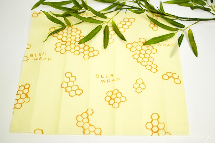 Afbeelding Bee's Wrap bijenwasdoek maat L