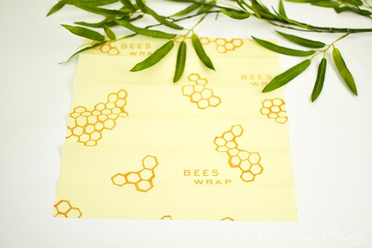 Afbeelding Bee's Wrap bijenwasdoek maat M