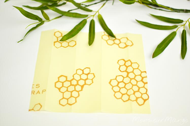 Afbeelding Bee's Wrap bijenwasdoek maat S