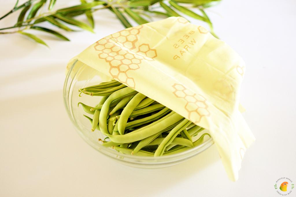 Afbeelding boontjes in bijenwasdoek