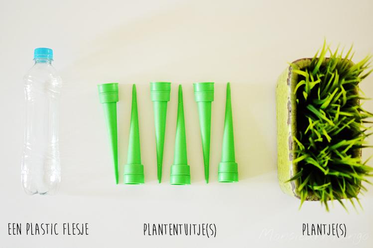 Afbeelding plantentuitjes benodigdheden