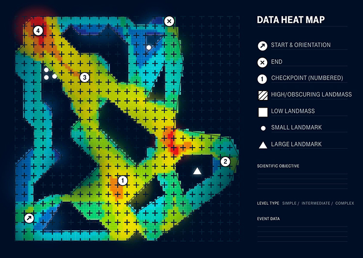 Afbeelding Sea Hero Quest heatmap
