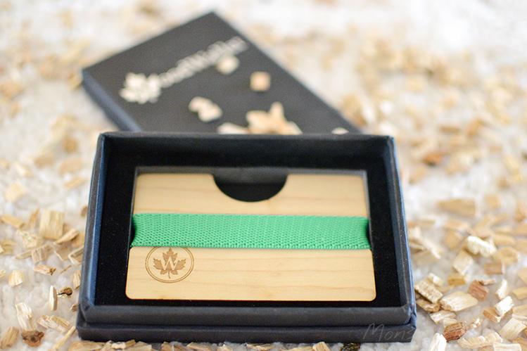 Afbeelding WoodWallet in doosje