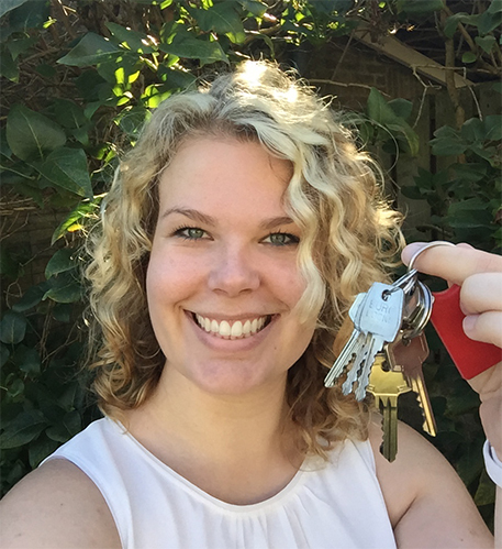 Afbeelding sleutels van mijn nieuwe huis