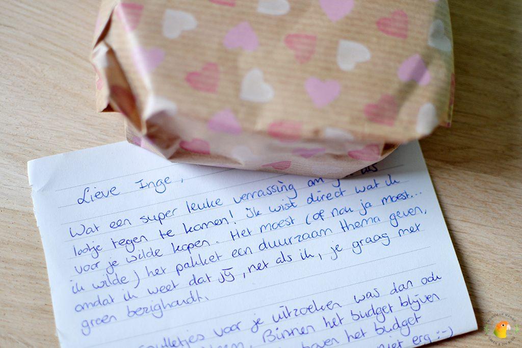 Afbeelding Echte Post Is Cool #3 gekregen lieve brief