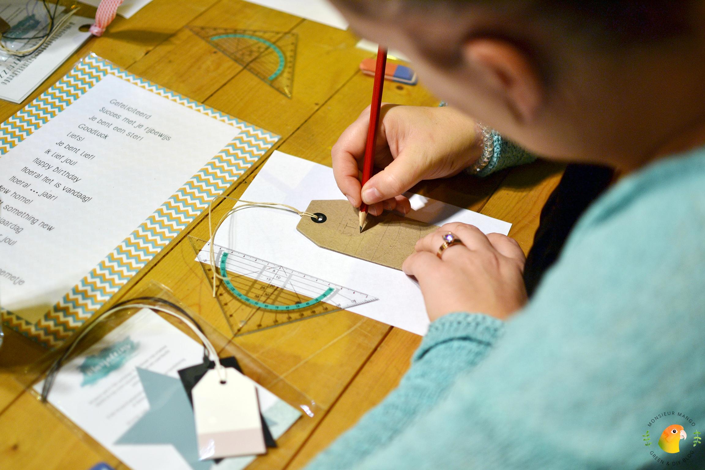 Afbeelding PaperPassion Marjolein's Creations handlettering aan de slag