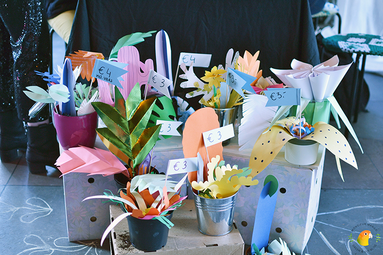 Afbeelding PaperPassion Studio Lianne Louise kamerplanten van papier