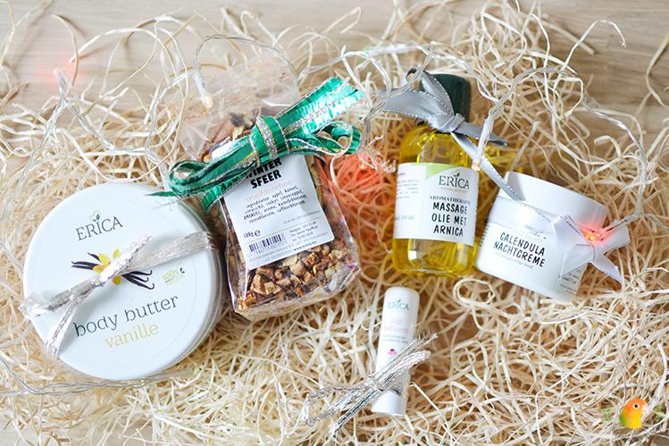 Afbeelding feestdagenpakket Erica Kruiderijen producten
