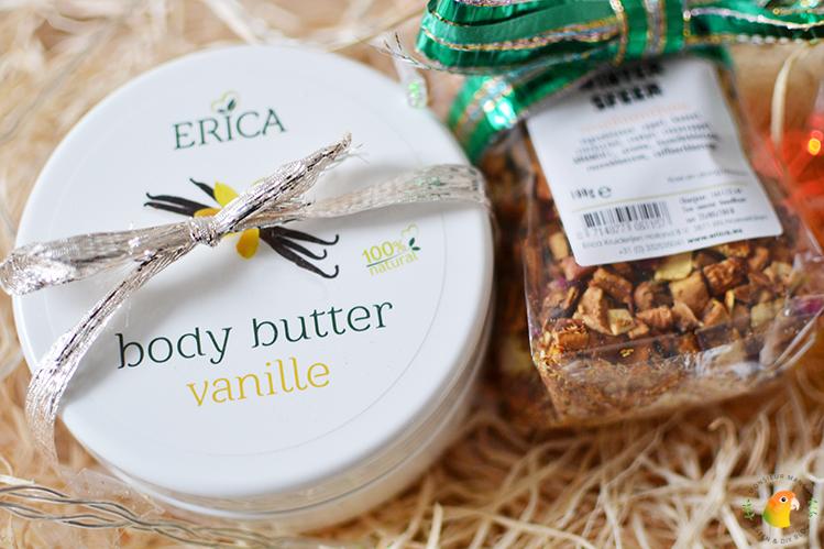 Afbeelding feestdagenpakket Erica Kruiderijen close-up producten