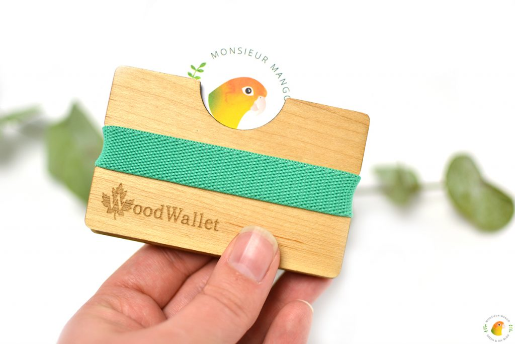 Afbeelding visitekaartje Monsieur Mango in WoodWallet