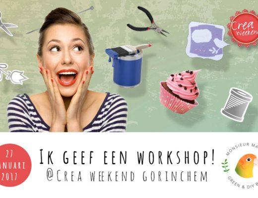 Afbeelding aankondiging workshop @creaweekend