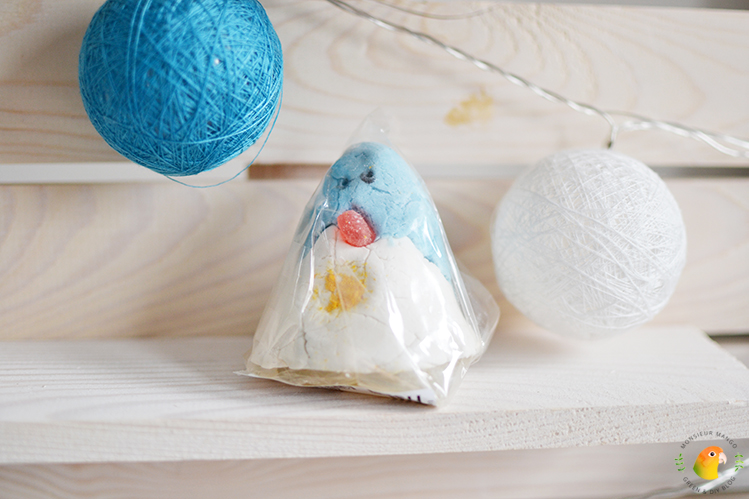 Afbeelding Lush kerst sale 2016 christmas penguin
