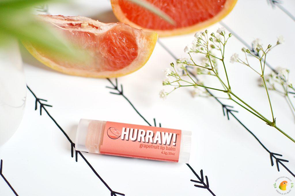 Afbeelding Hurraw! lippenbalsem grapefruit