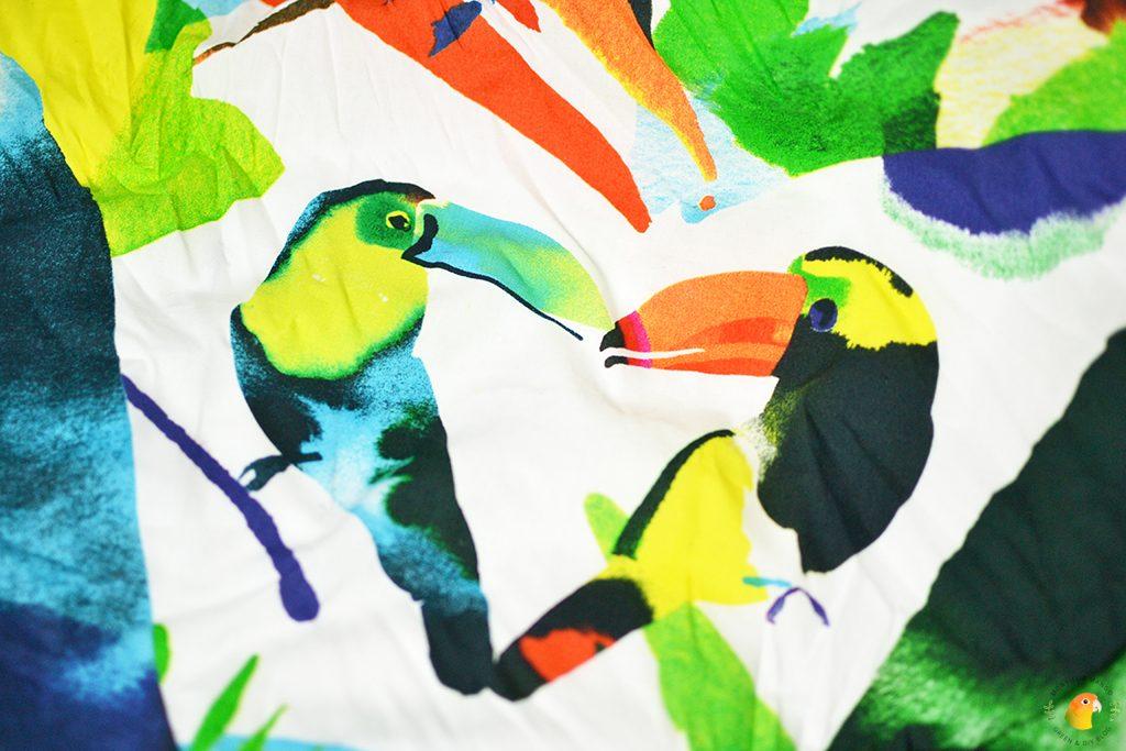 Afbeelding Lush Furoshiki toucan