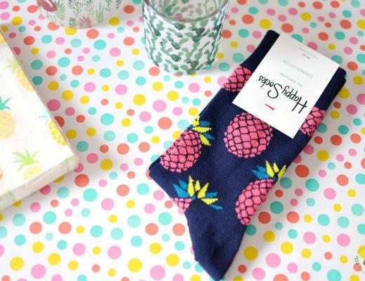 Afbeelding Echte Post Is Cool #4 gegeven cadeautje: ananassokken