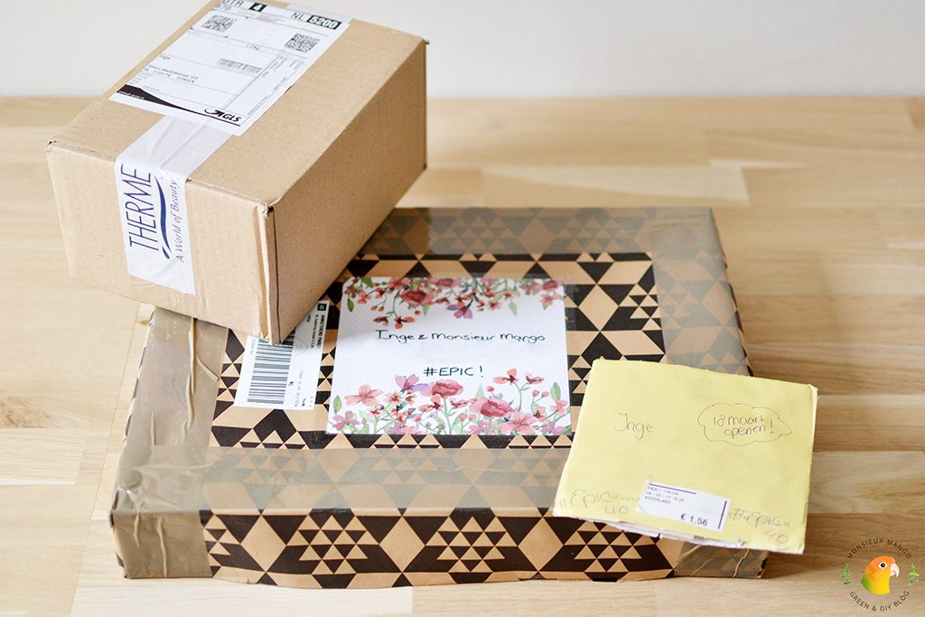 Echte Post Is Cool #4 ontvangen pakketjes