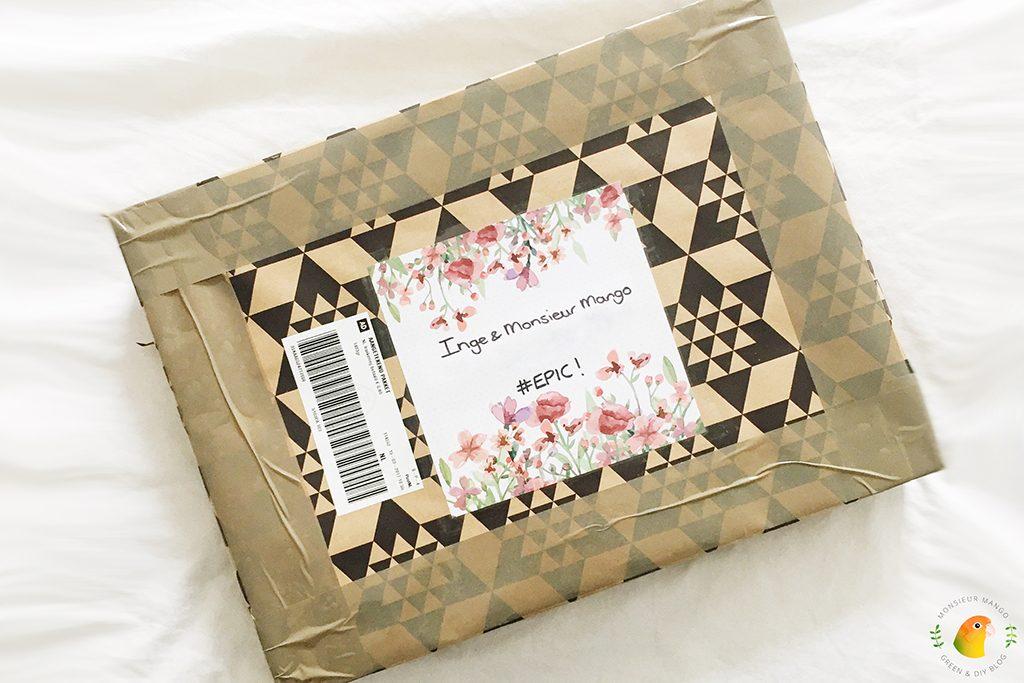 Echte Post Is Cool #4 ontvangen pakket