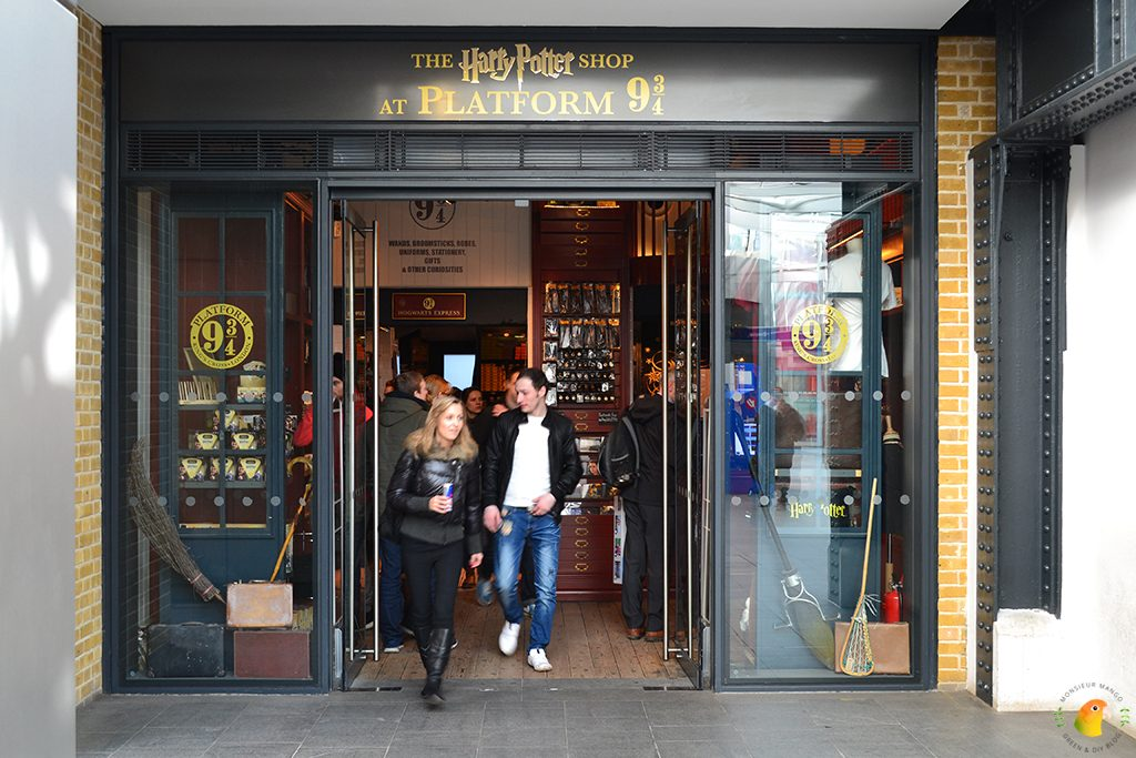 Afbeelding Harry Potter Shop Platform 9 3/4