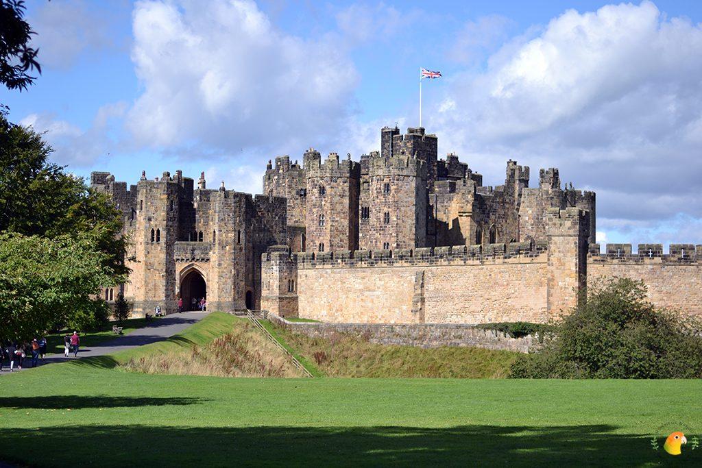Afbeelding Alnwick Castle Harry Potter