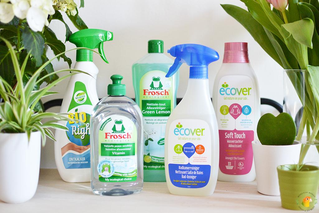 Afbeelding ecologische huishoudproducten