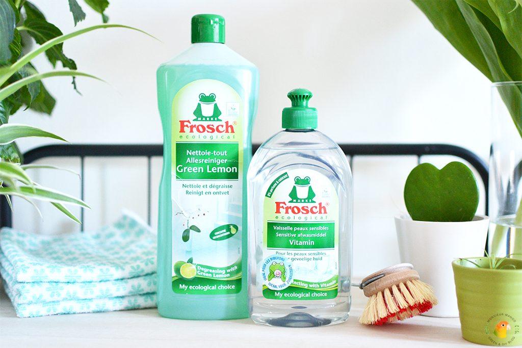 Afbeelding ecologische huishoudproducten Frosch